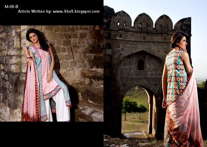 Mehdi Lawn Prints Look-Book 2015