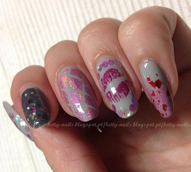 Nail Polish On Pinky Finger Meaning: Betty Nails: Valentines Day Nails
