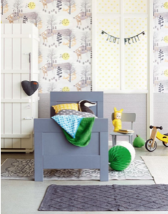 Kinderkamer inrichten de ultieme mama blogs lijst - Papel pintado dormitorio principal ...