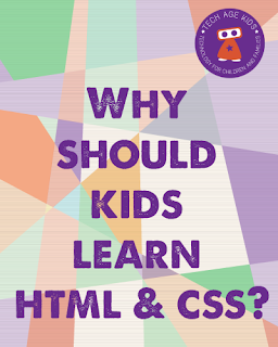 Why should kids learn HTML and CSS?