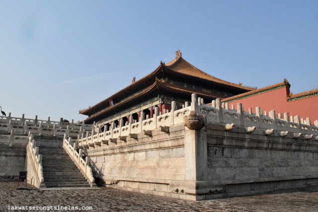 THE MORNING WALK WITHIN THE BEIJING PALACE MUSEUM