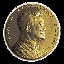 Magsaysay award medal