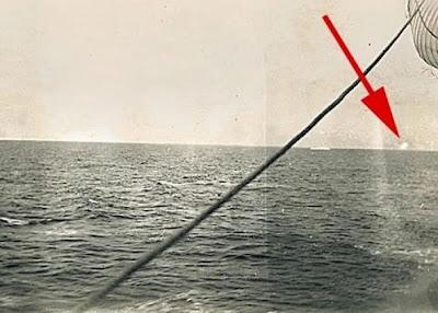 foto del iceberg contra el que chocó el titanic