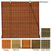 Bamboo Outdoor Roll Blinds