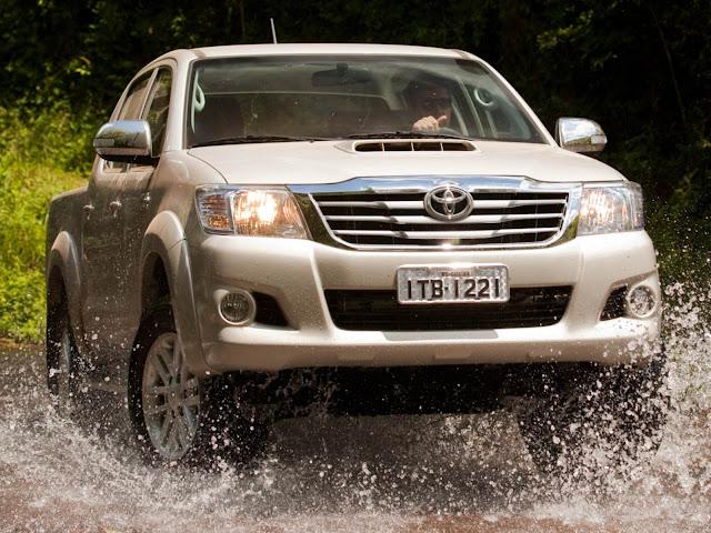 Toyota Hilux 2014 - Tabela de preço