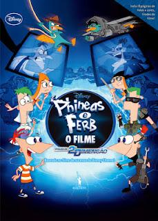 Cartaz de Phineas e Ferb - O filme