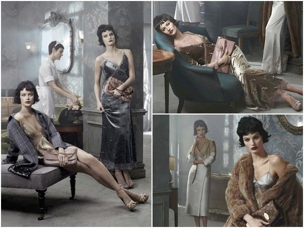 Coleção Louis Vuitton 2014 Slip Dress
