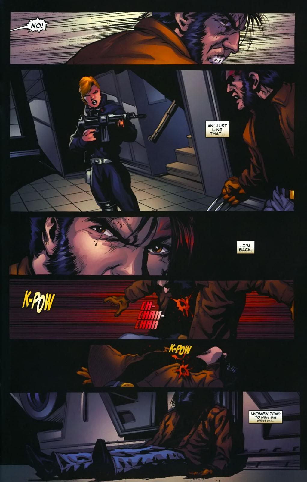 Read online Wolverine (2003) comic -  Issue #39 - 20