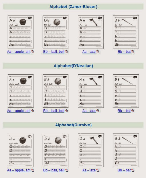 Alphabet Handwriting Worksheets For Kindergarten cursive a z – Alphabet Handwriting Worksheets for Kindergarten