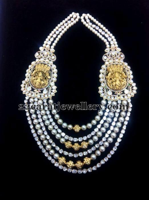 Pearl Layers Krishna Haram