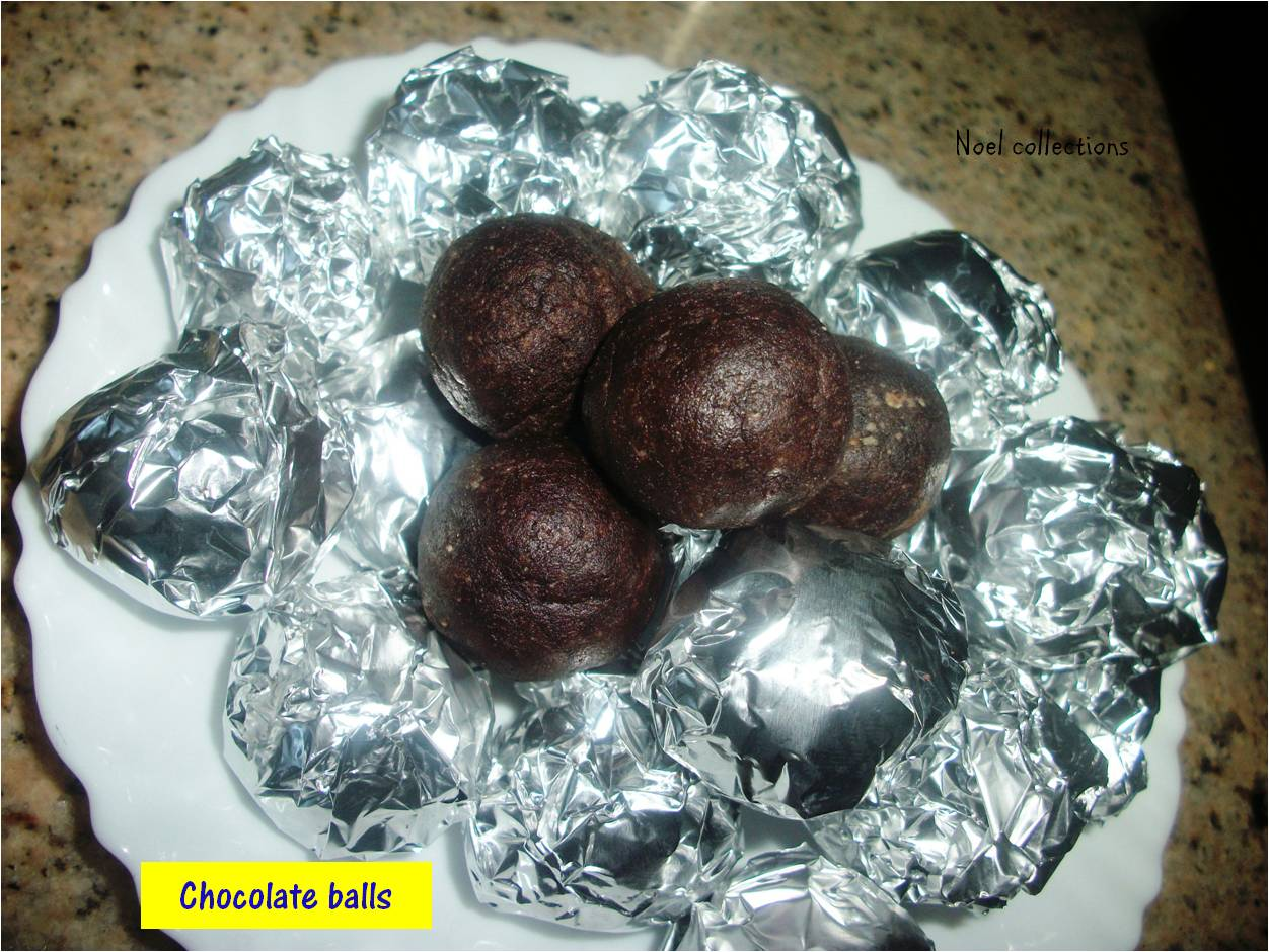 how to make chocolate balls with milkmaid