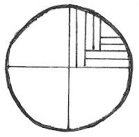 Tekening van Hongaars kwartierzagen