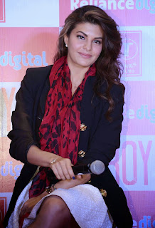 Actress Jacqueline Fernandez  Pictures at Roy Movie Promotions  3