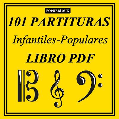 Tengo, tengo, tengo Canción popular infantil Partitura de Flauta, Violín, Saxofón Alto, Trompeta, Viola, Oboe, Clarinete, Tablaturas de Guitarra, Saxo Tenor, Soprano Sax, Trombón, Fliscorno, chelo, Fagot, Barítono, Bombardino, Trompa o corno, Tuba...