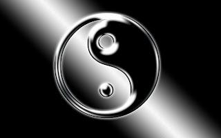 Ying Yang Logo wallpaper