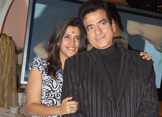 ekta with jeetendra