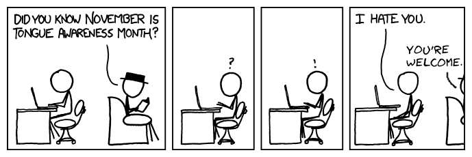 Writing a good thesis xkcd