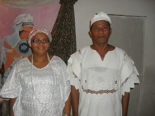 Baba Noamã e Mãe de Santo kathia