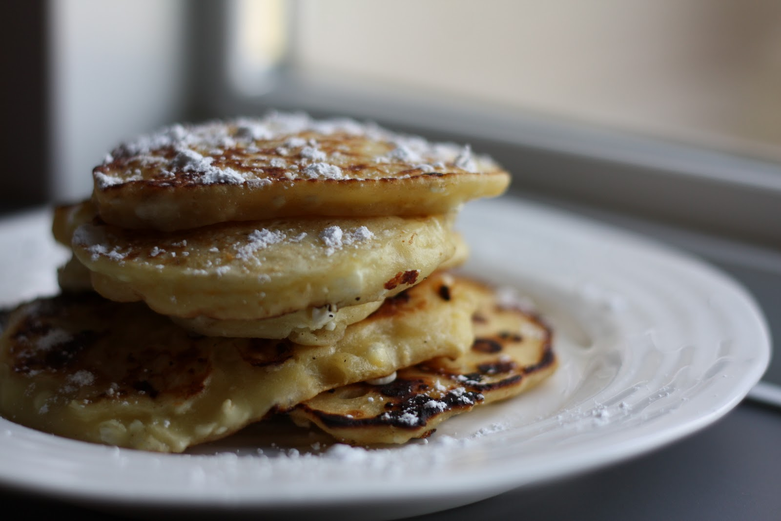 Flourishing Foodie: Cottage Cheese Pancakes with Lemon
