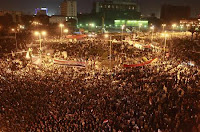 Islamist protesters flocked to Cairo's Tahrir Square