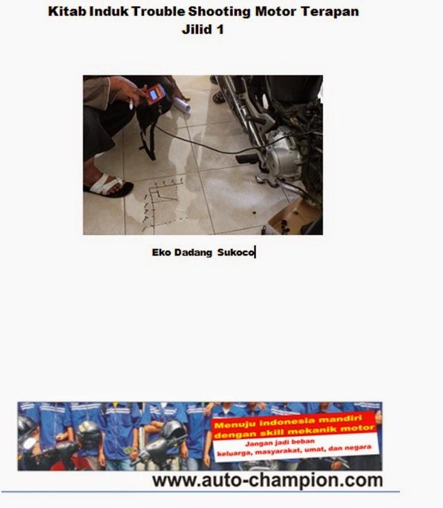 buku best seller trouble shooting motor terapan