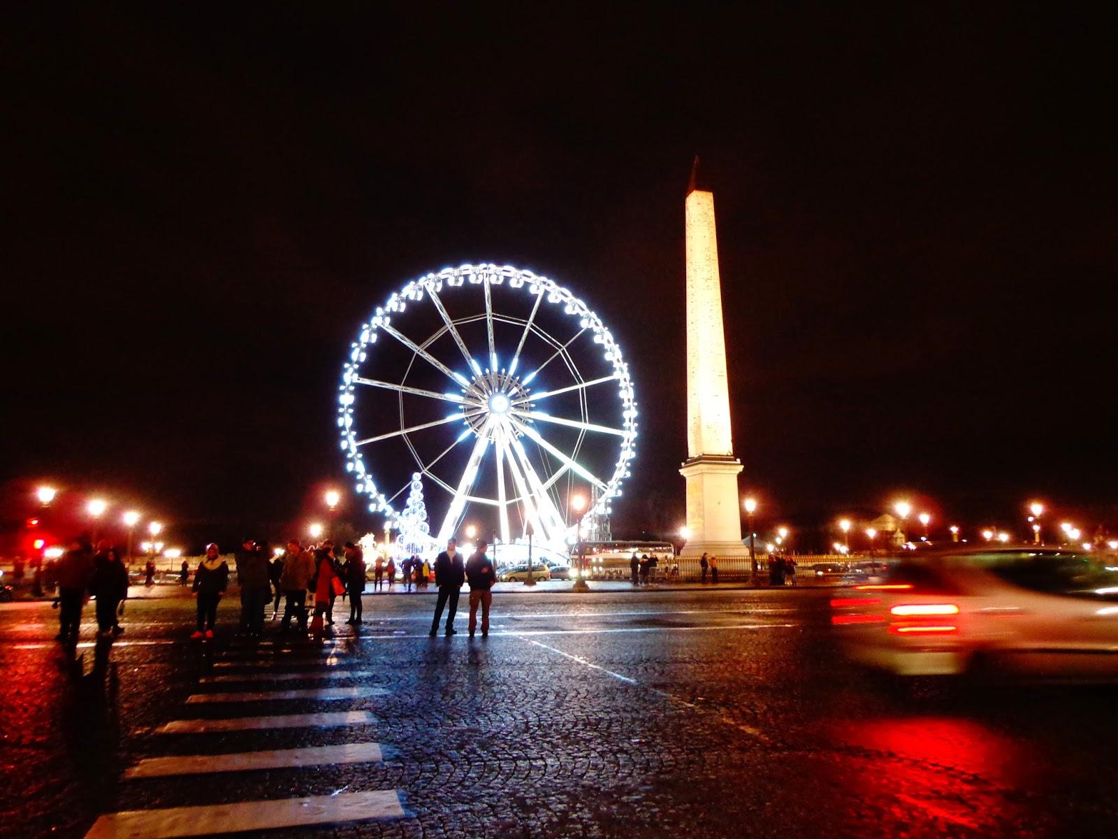 Ночной-Париж
