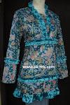 blus batik busana muslim