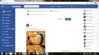 Tampilan Keren Facebook - Facebook Flat