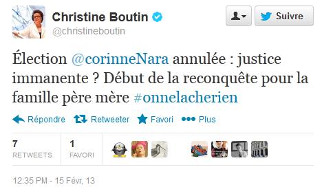 Christine Boutin monmaniaque