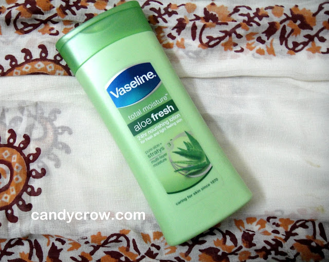 vaseline lotion review Vaseline Total Moisture Aloe Vera Body lotion | Review