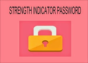 Strength indicator password dengan jquery