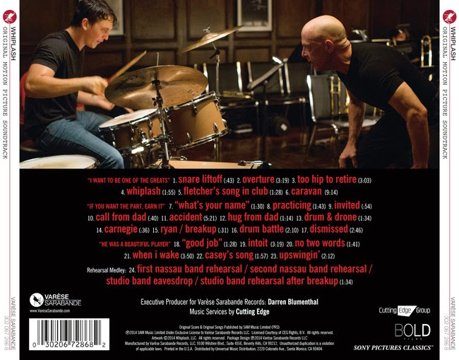 whiplash soundtracks