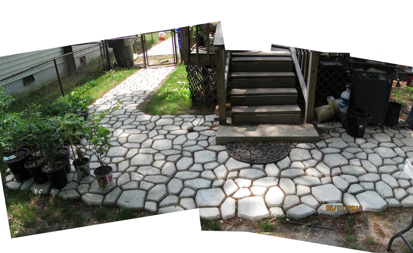 Concrete Mold Walkway Flawless Carpentry