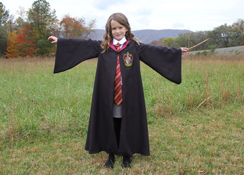 She is reading the Sorcereru0027s Stone for the 4th time right now. Hermione is so smart and brave and I was very happy that she chose her for Halloween this ...  sc 1 st  crozette & crozette: Hermione Granger Costume