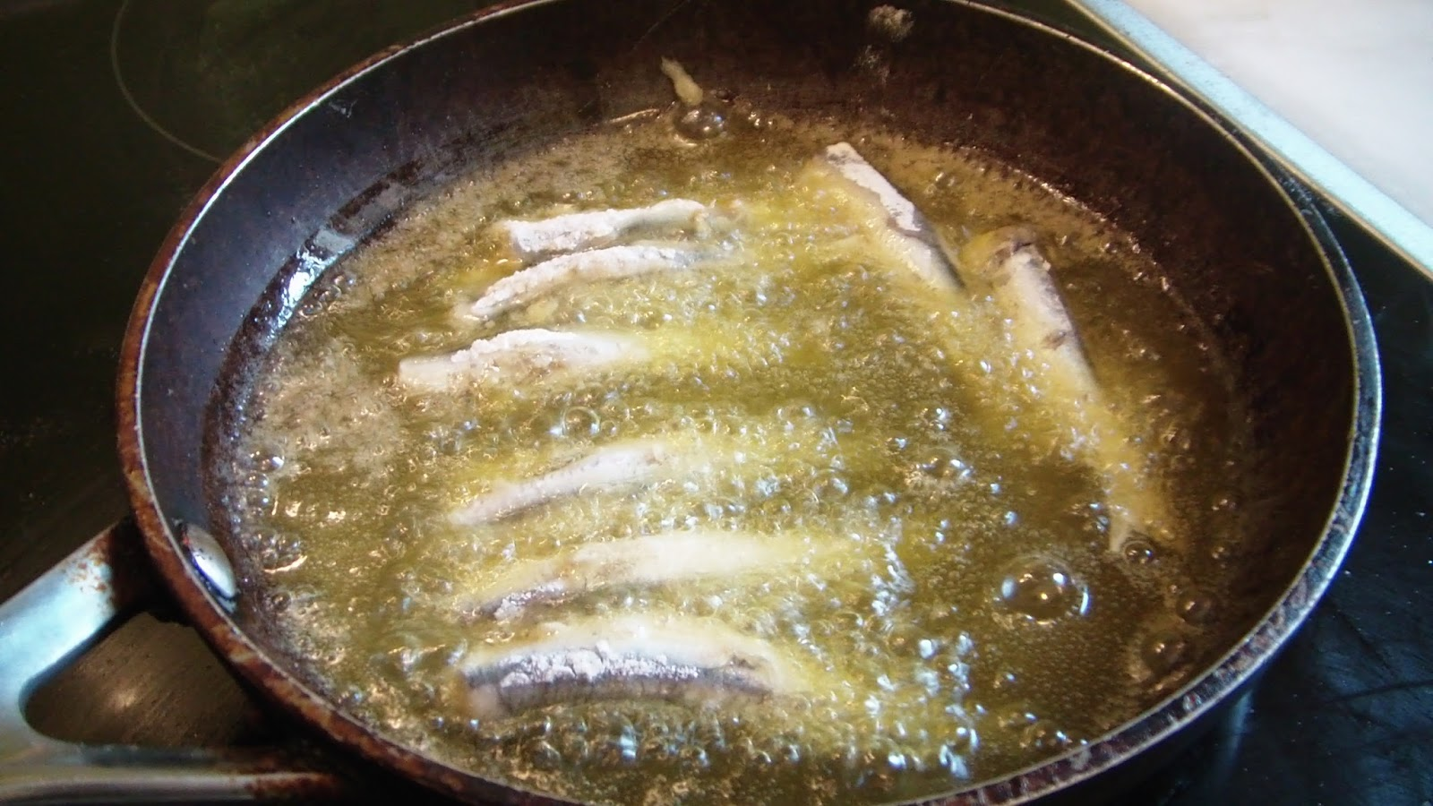 cretan recipes fried fish in olive oil