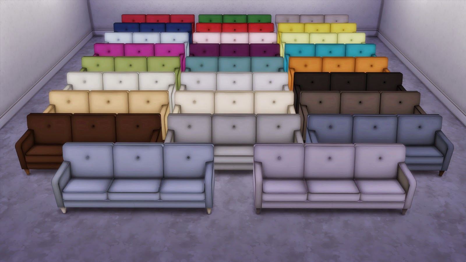 my sims 4 blog sofa le sims 3 conversion by edwardianed. Black Bedroom Furniture Sets. Home Design Ideas