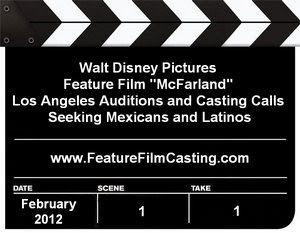 Disney Film McFarland Casting Mexicans