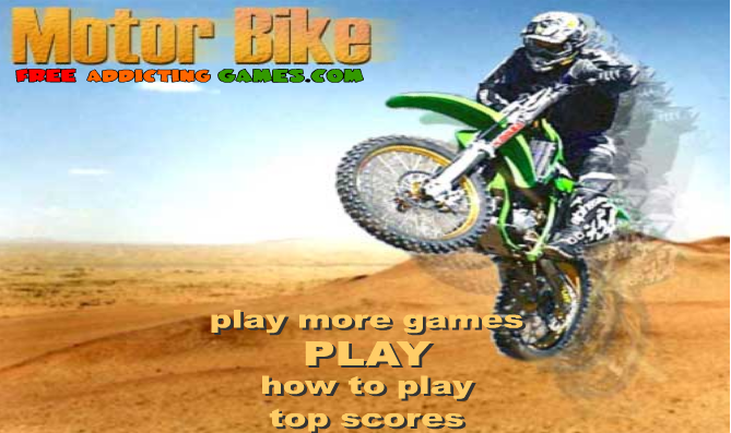Bike Games Online Free Play motor bike Play free