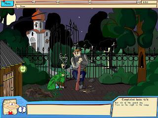 The Jolly Gangs Spooky Adventure in graveyard