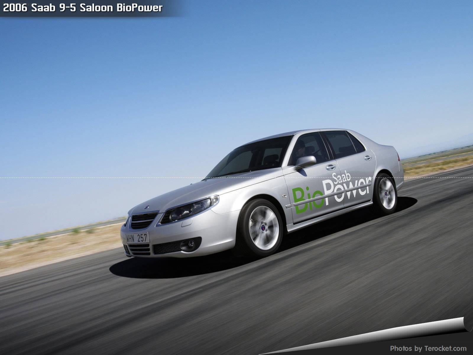Hình ảnh xe ô tô Saab 9-5 Saloon BioPower 2006 & nội ngoại thất