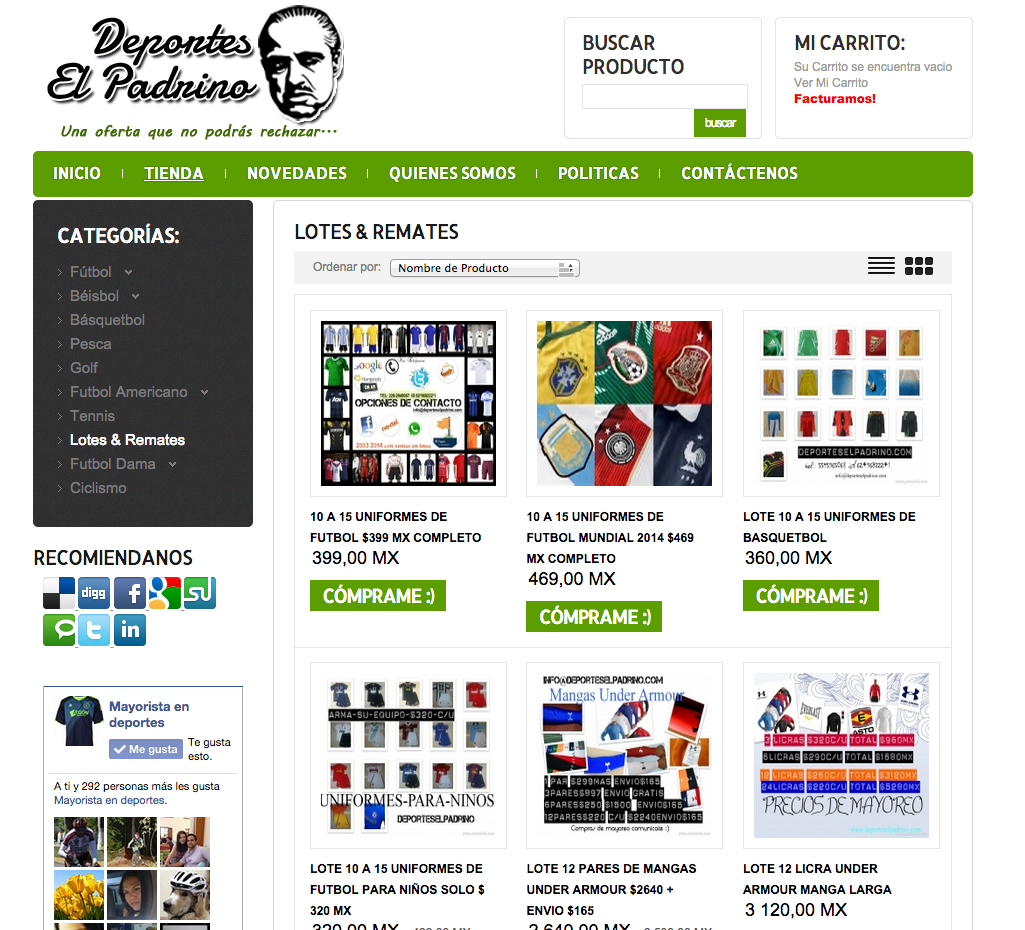 http://www.mayoristaendeportes.com/tienda/lotes-remates.html