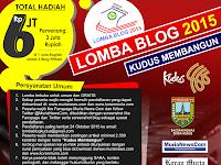 """Ikuti Lomba Blog """"Kudus Membangun"""", Raih Hadiah Jutaan Rupiah"""