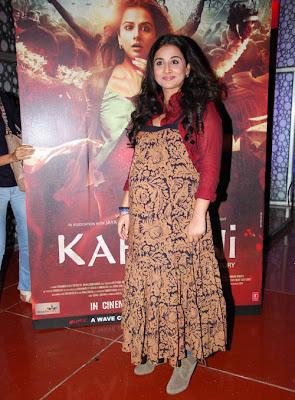 vidya balan at kahaani painting launch latest photos