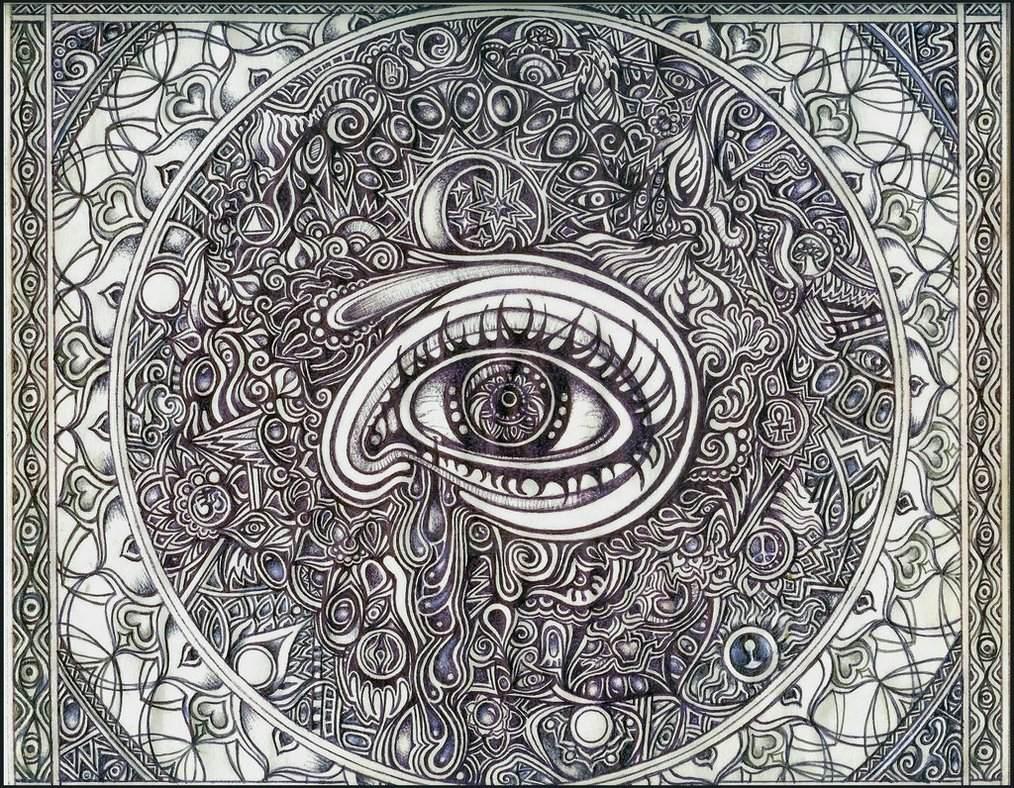 Mandala Madness: Mandala Eyes - A Collection