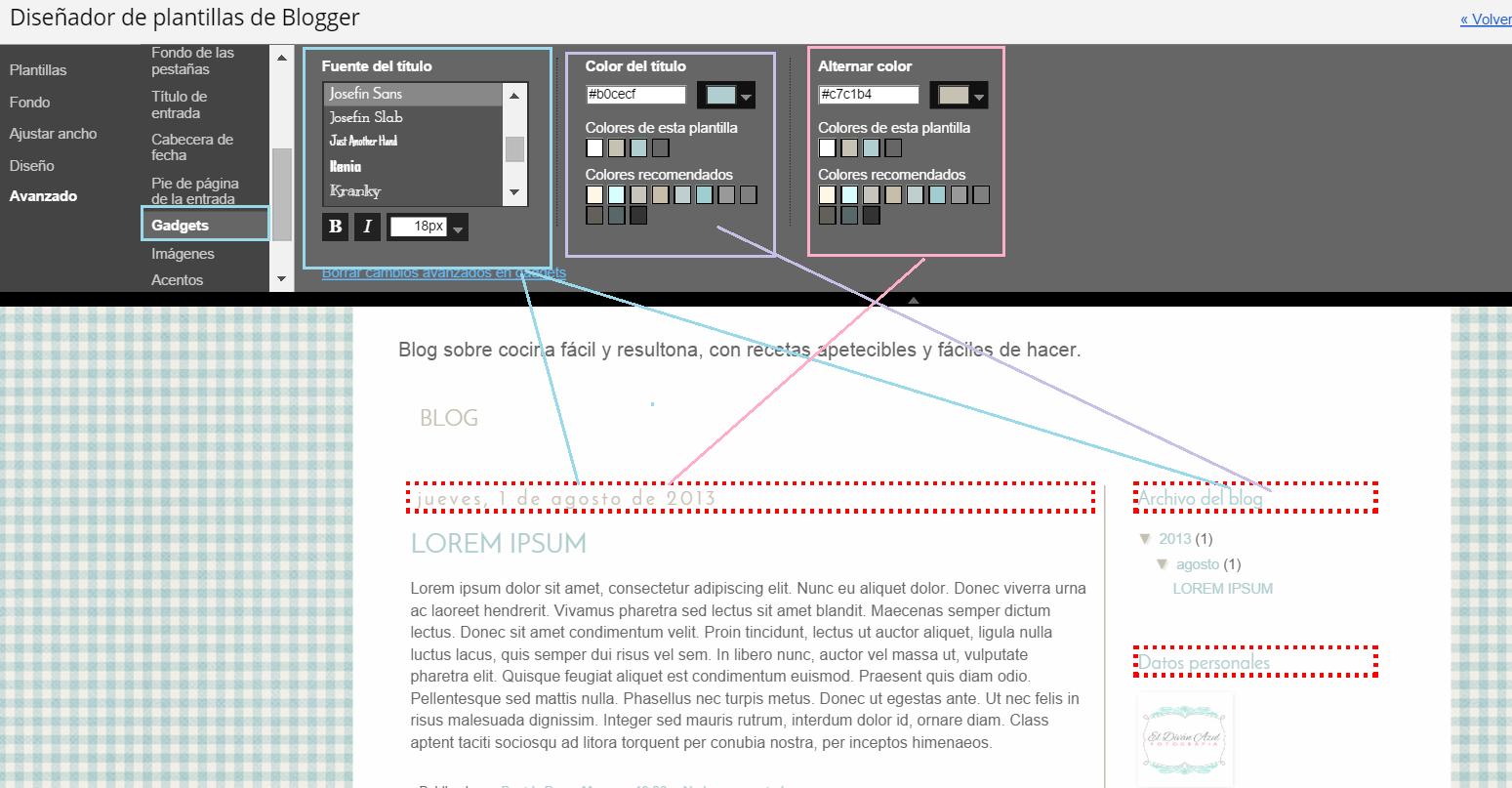 El Divan Azul: diseñador-plantilla-gadget- tutorial- blogger