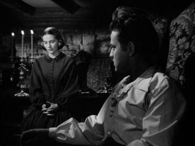 Joan Fontaine and Orson Welles in the 1943 Jane Eyre