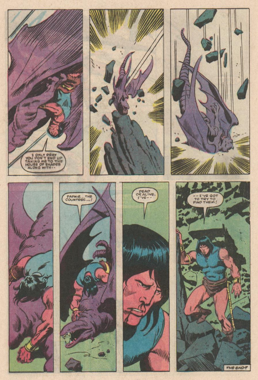 Conan the Barbarian (1970) Issue #167 #179 - English 23