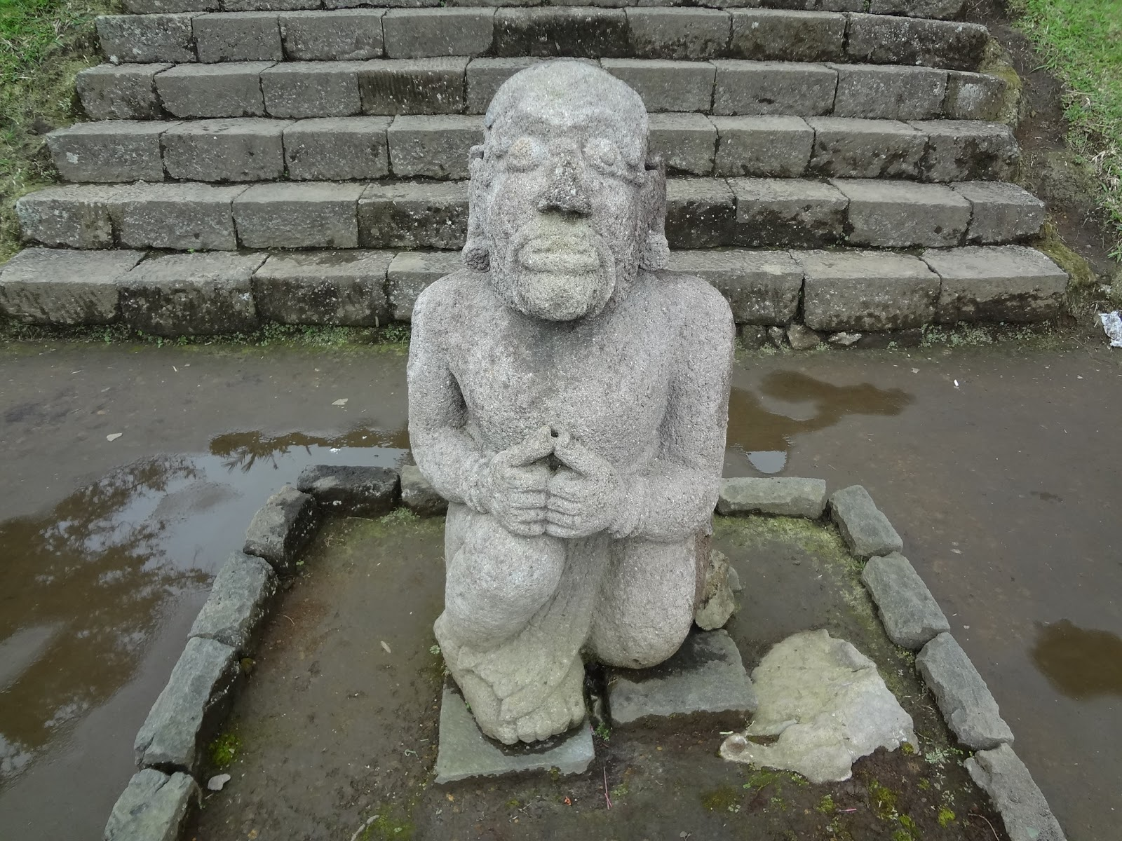 Image result for cetho temple statue