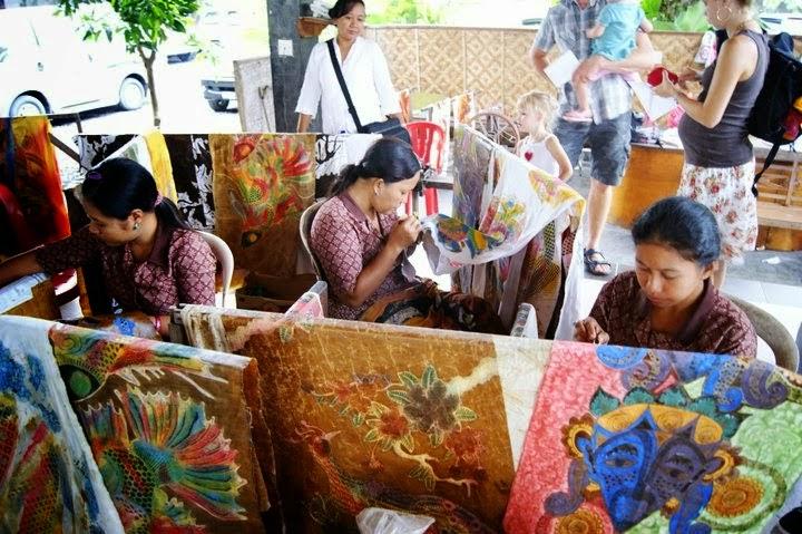 Desa Tohpati Batik Bali