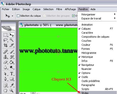 Cr er un logo avec photoshop phototutoriels for Logo change votre fenetre cas par cas